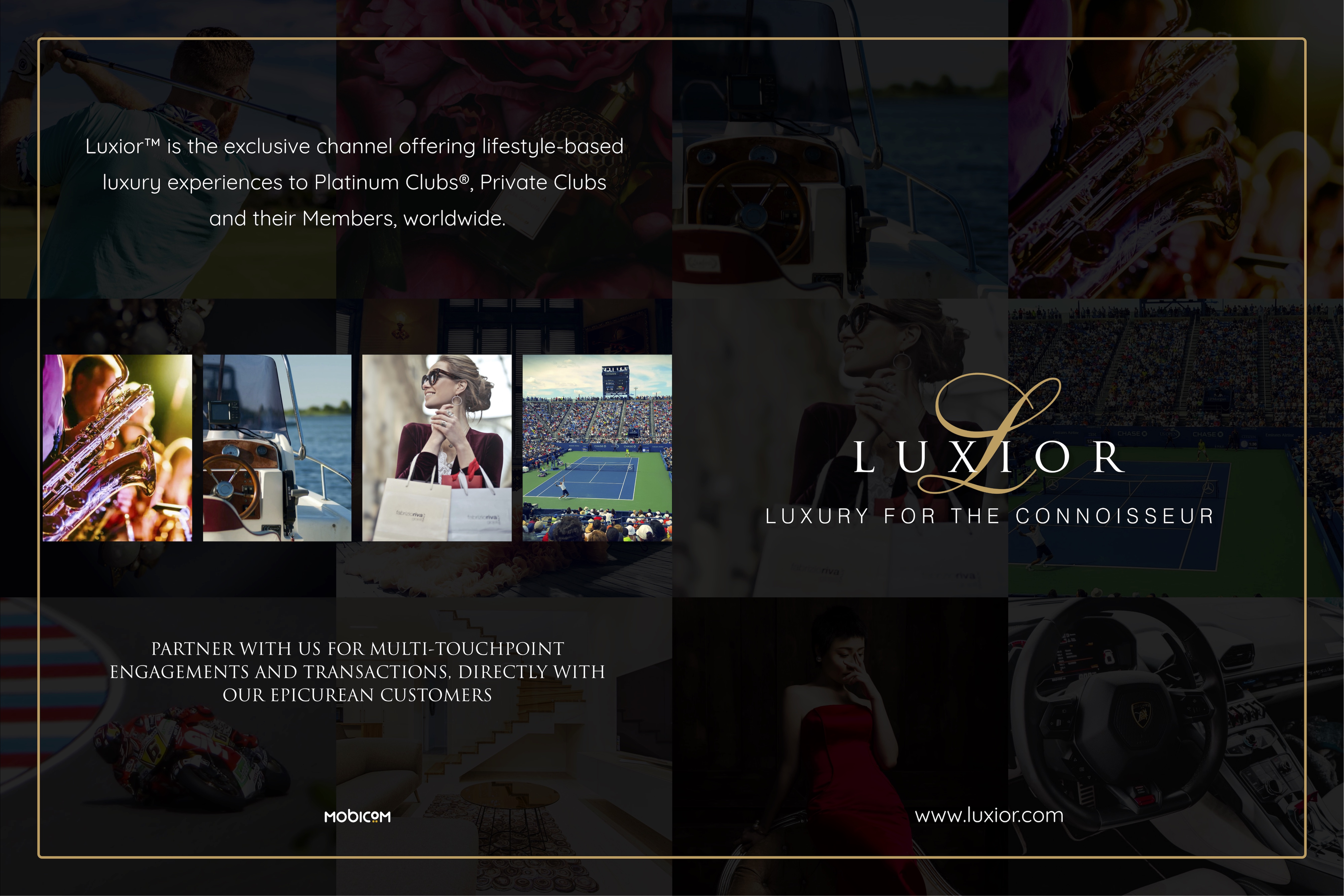 Luxior™ Features in Hills Views and Valley Luxury Magazine